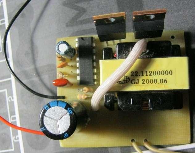 Как сделать с 220 12 вольт